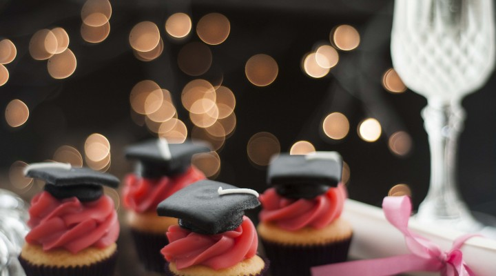 Cupcakes temáticos para a Formatura