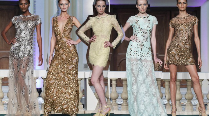 Escolhendo o vestido de formatura