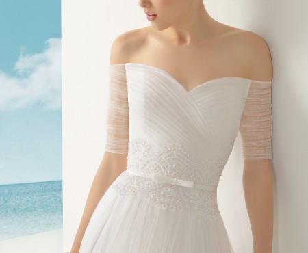 Vestidos de noiva minimalistas são tendência em 2015