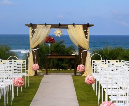 Decoração da cerimônia de casamento pode ser criativa