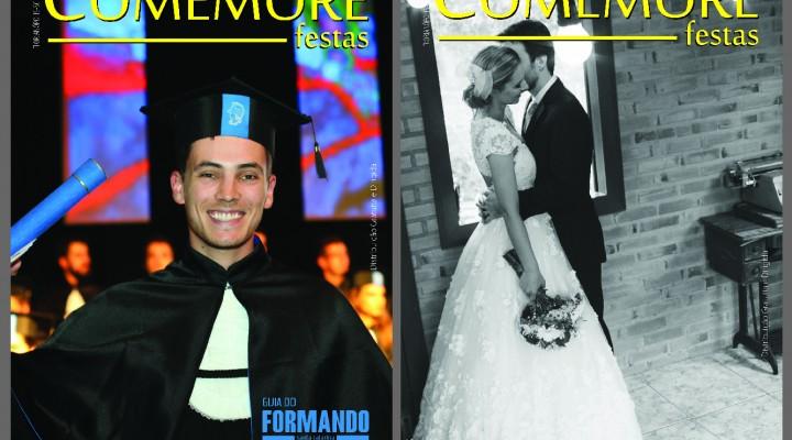 Lançamento oficial da Revista Comemore será dia 24